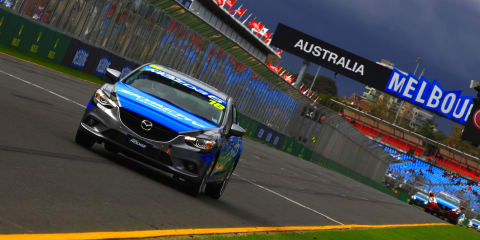 Mazda 6 shares limelight with F1 at Australian Grand Prix
