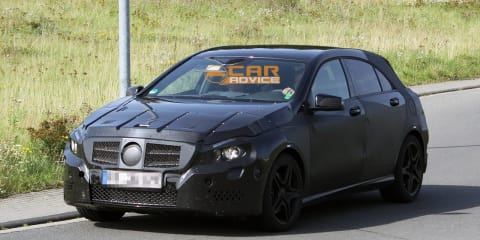 2013 Mercedes-Benz A-Class AMG spy shots