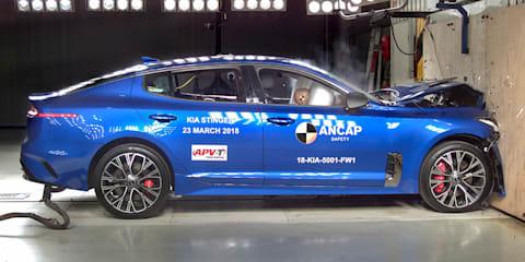 2018 Kia Stinger range gets five-star ANCAP rating - UPDATE
