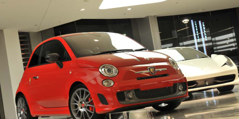 2011 Abarth 695 Tributo Ferrari on sale for $70,000