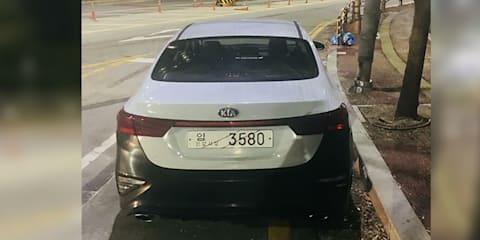 Kia Cerato GT spied