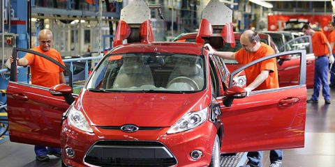 Ford cuts production in Germany & Spain