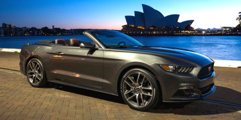 Ford Mustang production kicks off for Australia as local orders top 3000