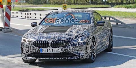2019 BMW 8 Series spied again
