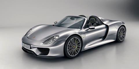 Porsche 918 Spyder revealed in final production form