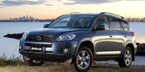 2011 TOYOTA RAV4 CV Review