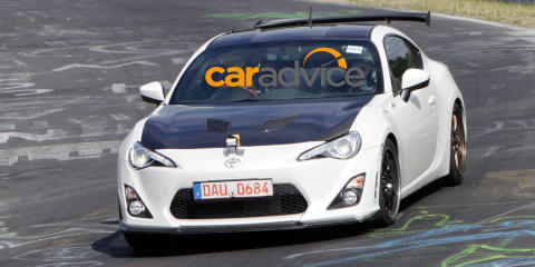 Toyota 86 :: track-tuned variant spied lapping Nurburgring