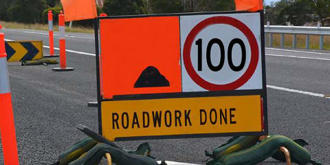 Victorian Government proposes new roadworks speed limit rules