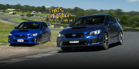 How to drive fast in a Subaru WRX STI