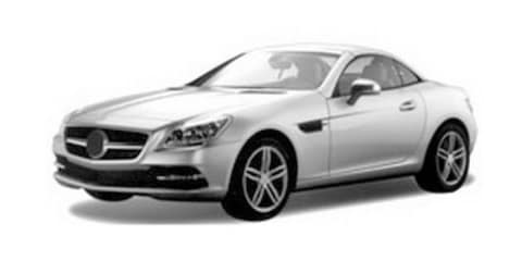 2012 Mercedes-Benz SLK revealed in trademark images