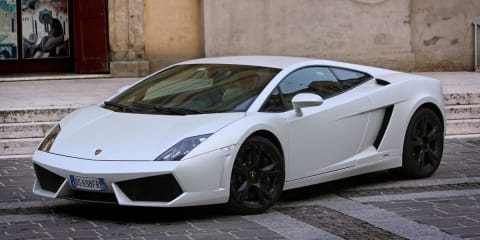 Lamborghini Gallardo: stripped model to get last manual gearbox