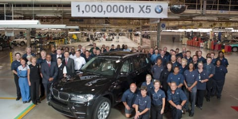 BMW X5 born for the millionth time