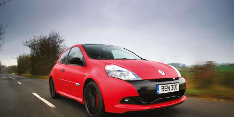 Renault Clio R.S. Angel & Demon special edition for Australia