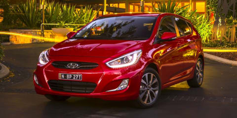 Hyundai Accent SR on sale from $18,990