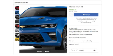 HSV: SportsCat, Camaro and Silverado pricing revealed