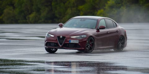 260kW Alfa Romeo Giulia spotted on service website