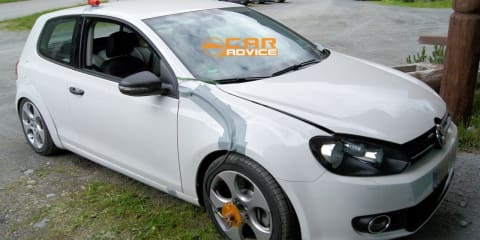 2013 Volkswagen Golf GTI and Golf R spy shots
