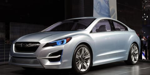 Subaru Impreza Design Concept video released