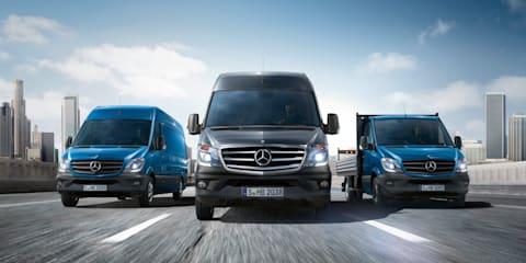 Mercedes-Benz Sprinter: first Euro 6 compliant van range unveiled