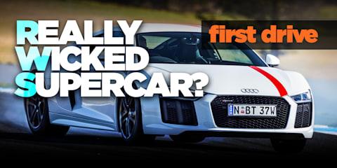 2018 Audi R8 RWS review: Australian launch drive