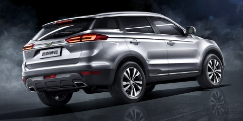 Geely Bo Yue SUV revealed: Spied 'NL-3' drops camouflage