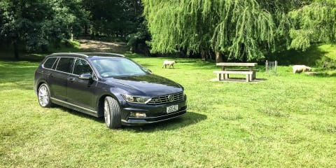 Destination Drive: Tauranga and Rotorua in a Volkswagen Passat wagon