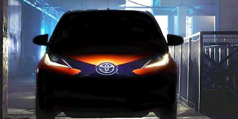 Toyota Aygo : All-new city car teased