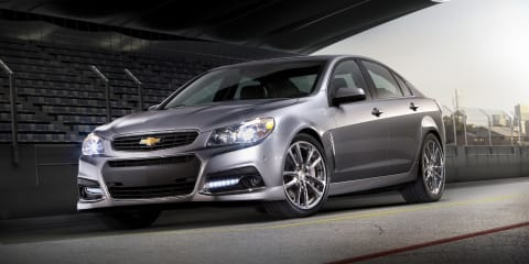 Chevrolet SS breaks cover at Daytona