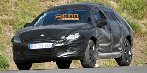 Peugeot 508 Outdoor spy shots