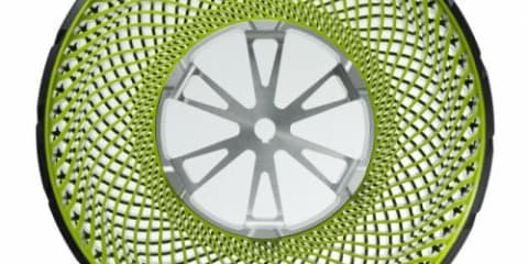 Bridgestone airless tyre concept: Efficient and environmentally friendly