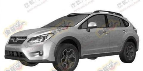 Subaru XV Impreza-based Outback patent images revealed