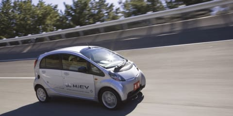 Mitsubishi i-MiEV goes into production