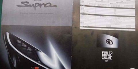 Toyota Supra 'brochure' leaked - UPDATE