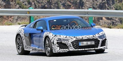 2019 Audi R8 GT spied