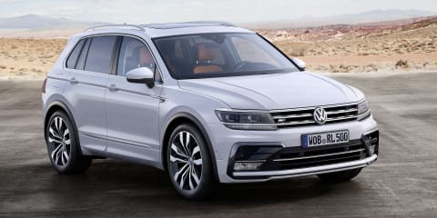 2016 Volkswagen Tiguan revealed