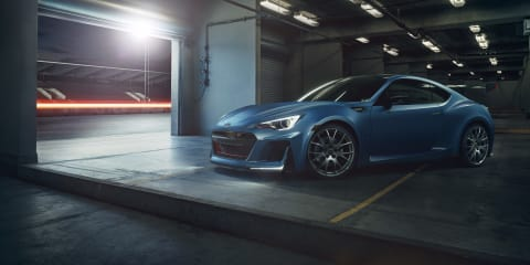 Subaru BRZ STI Performance Concept revealed with high-output turbo engine