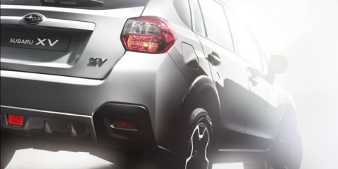 2012 Subaru XV production teaser revealed ahead of Frankfurt