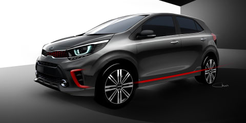 2017 Kia Picanto teased ahead of global debut