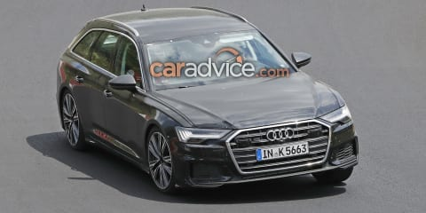 2019 Audi S6 Avant spied