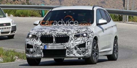 2019 BMW X1 'LCI' spied