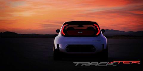 Kia Track-ster concept teaser #2