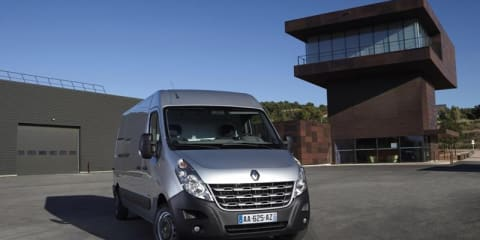 2010 Renault Master on sale in Europe from April, Australia in 2011