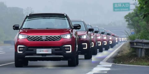 55-car convoy in 'autopilot' mode claims Guinness world record