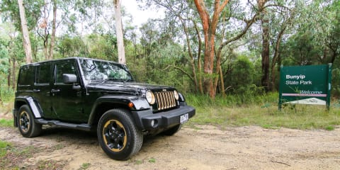 Jeep Wrangler Dragon Edition Review : Bunyip weekender