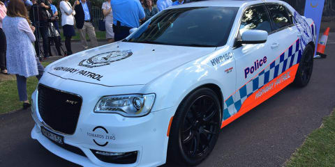 NSW Police add Chrysler 300 SRT to promo fleet
