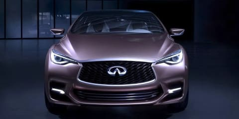 Infiniti Q30 concept: gallery released