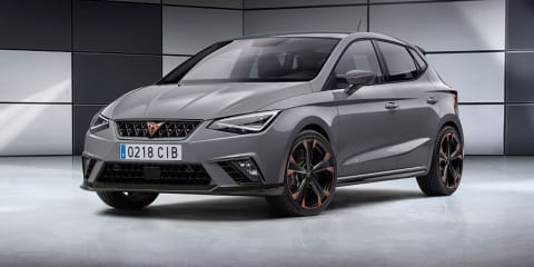Cupra Ibiza prototype revealed