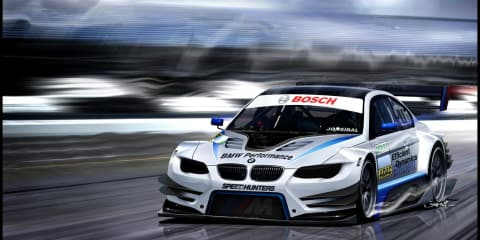 BMW fires it up for DTM in 2012