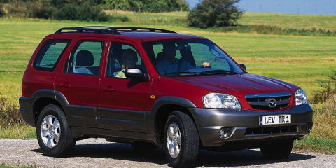 2001 MAZDA TRIBUTE LUXURY