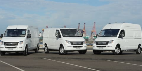 2015 LDV V80 : Chinese van range relaunches from $29,990 driveaway